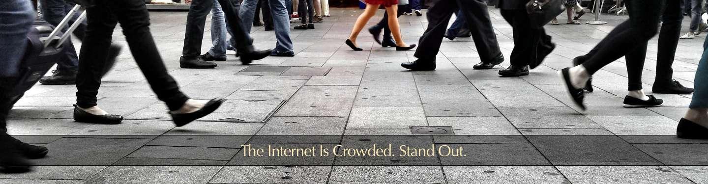 Crowded internet